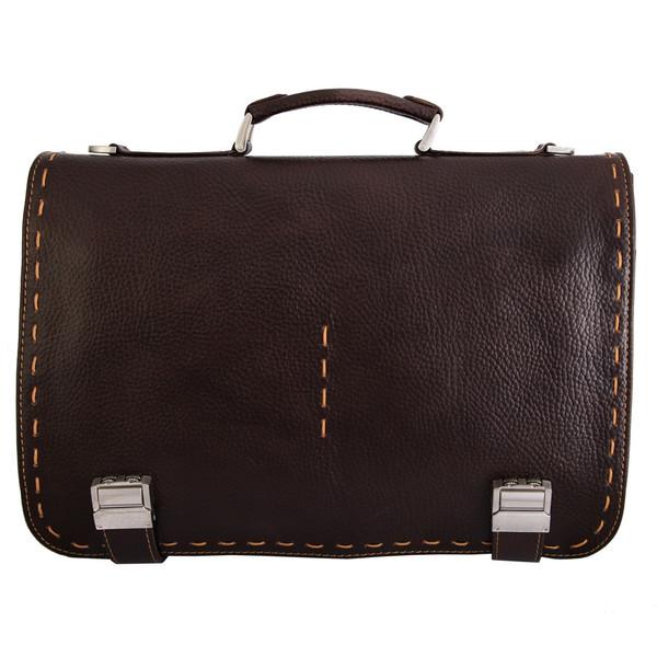 کیف  دستی چرم طبیعی گالری مثالین مدل 24003
