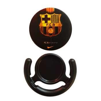 پایه نگهدارنده گوشی موبایل طرح لوگوی بارسلونا مدل پاپ سوکت B003