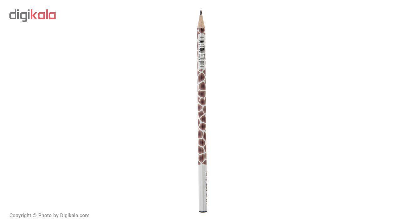 مداد مشکی Faber-Castel طرح حیوانات - بسته 4 عددی main 1 6