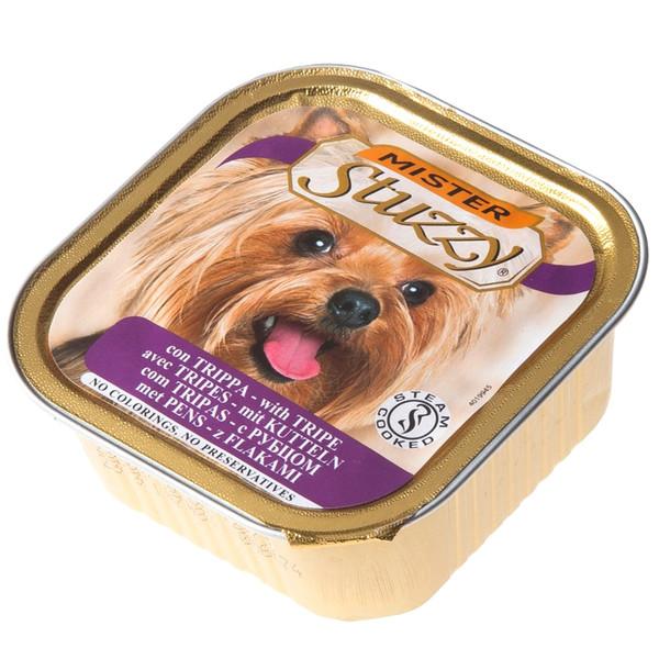 خوراک سگ استوزی مدل Tripe-10416 با طعم سیرابی وزن 150 گرم