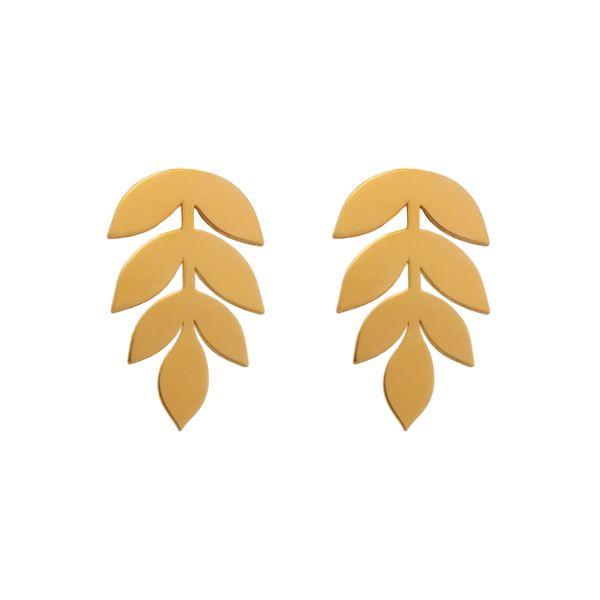 گوشواره طلا 18 عیار زنانه دُرج مدل DS11