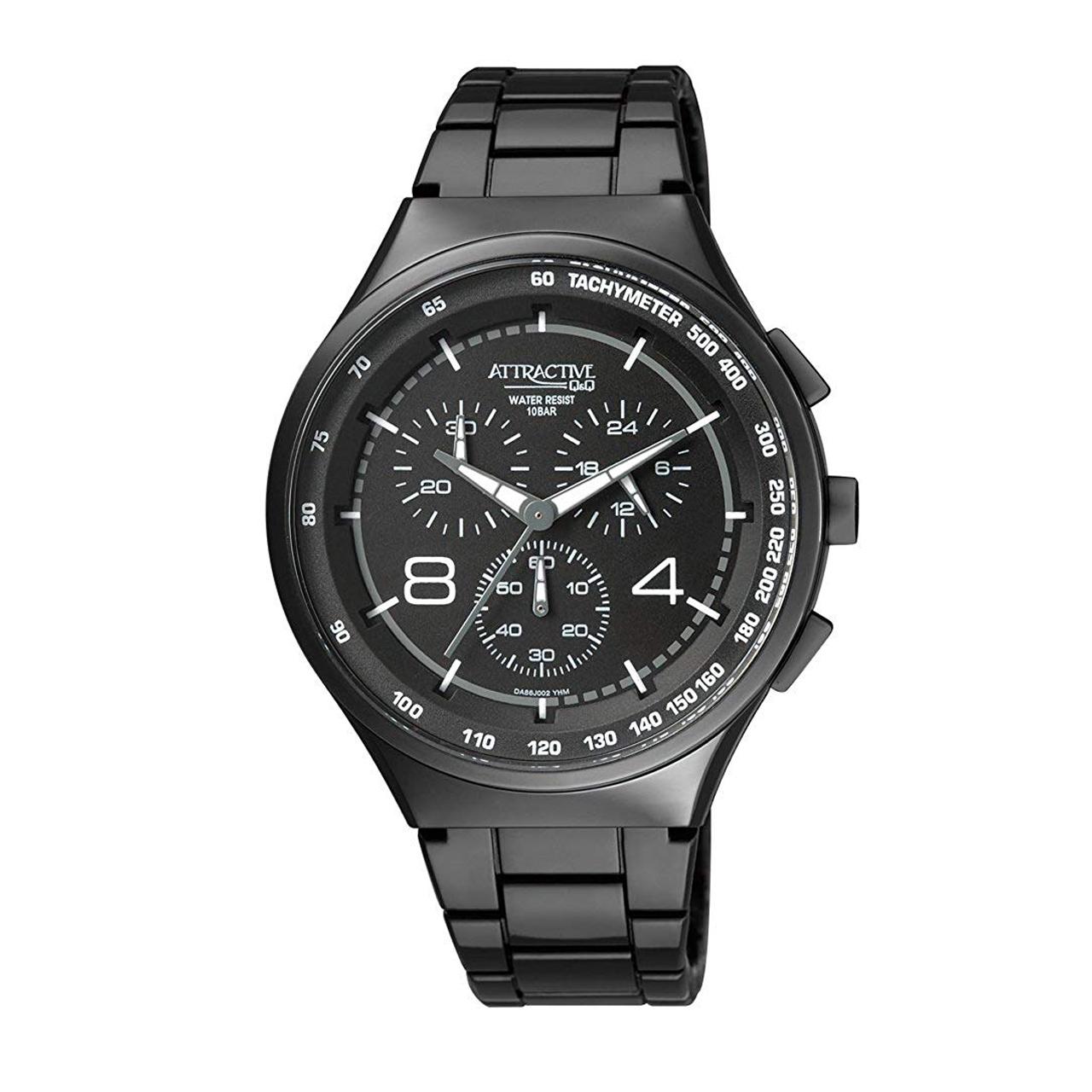 کد تخفیف                                      ساعت مچی عقربه ای مردانه  کیو اند کیو مدل DA86J002Y