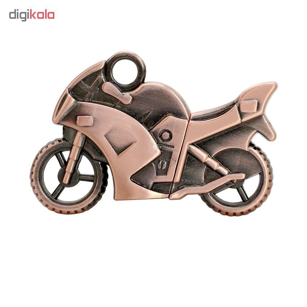 فلش مموری طرح موتورسیکلت کدMMB01 ظرفیت 8 گیگابایت main 1 3