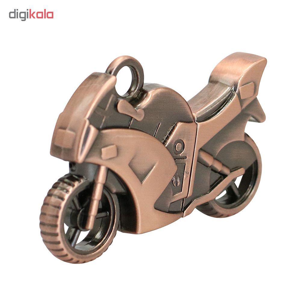 فلش مموری طرح موتورسیکلت کدMMB01 ظرفیت 8 گیگابایت main 1 4