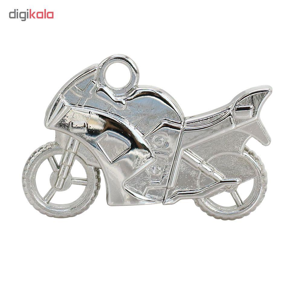 فلش مموری فلزی فلشیها مدل موتورسیکلت ظرفیت 8 گیگابایت