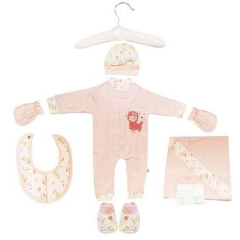 ست 7 تکه لباس نوزادی مادرکر طرح بره ناقلا کد M454.7