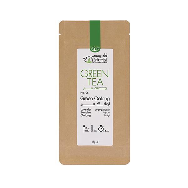 دمنوش اولانگ سبز فلوریست مقدار 32 گرم