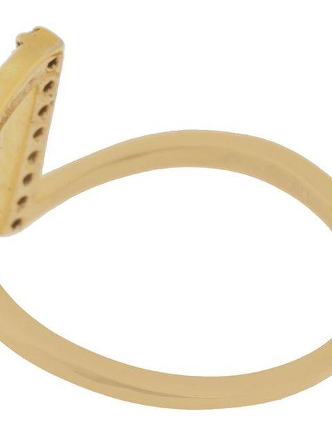 انگشتر طلا 18 عیار زرمان مدل MR0275 -  - 3