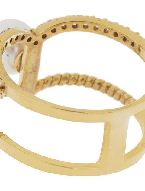 انگشتر طلا 18 عیار زرمان مدل MR0276 -  - 3