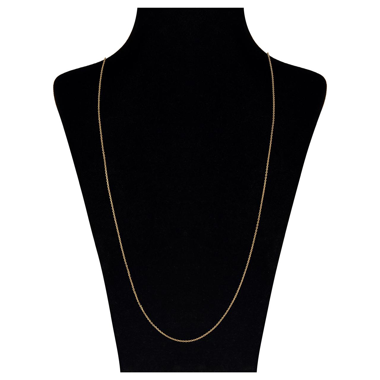 قیمت گردنبند طلا 18 عیار مایا ماهک مدل MM0871