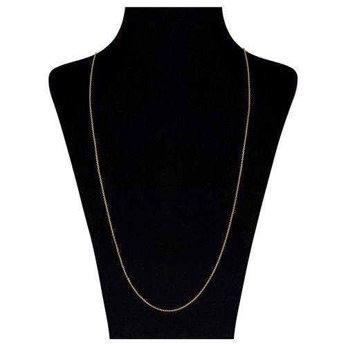 گردنبند طلا 18 عیار مایا ماهک مدل MM0871