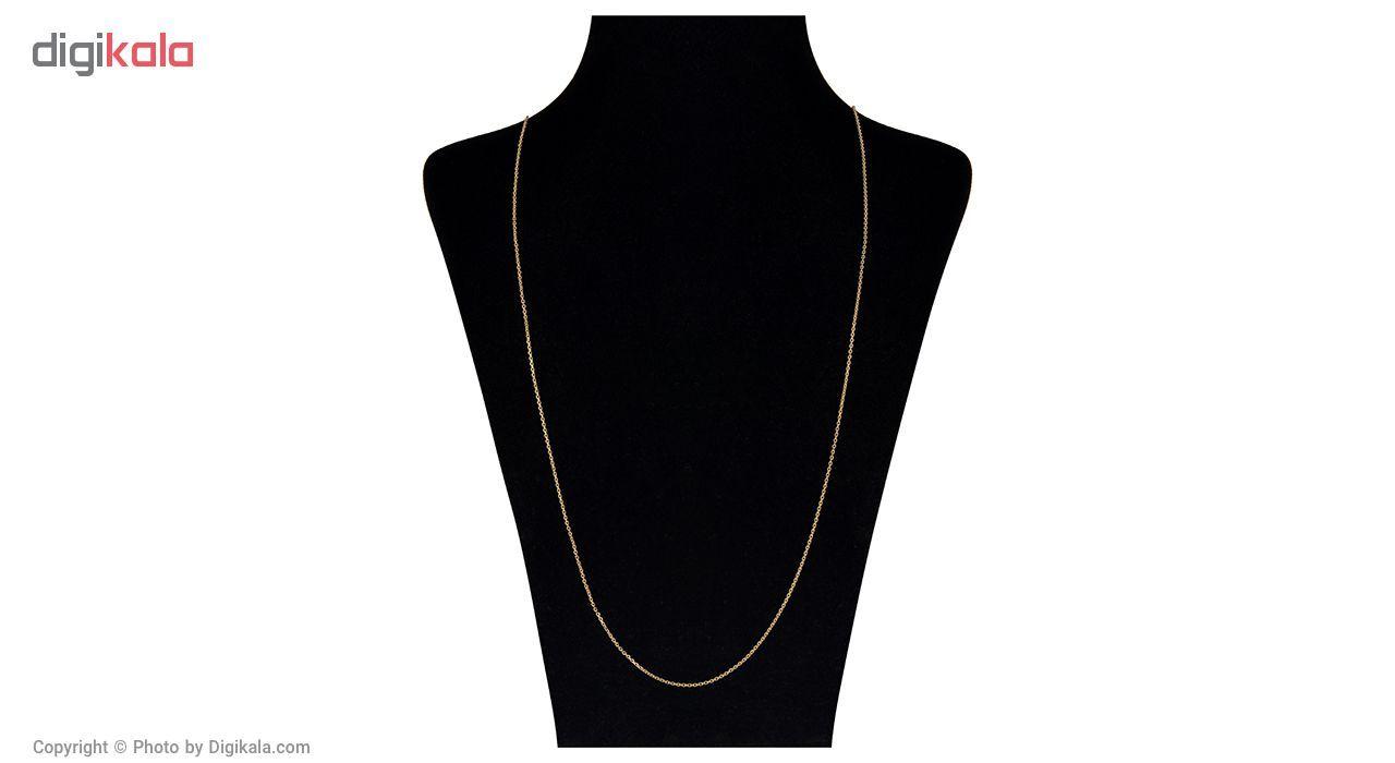 گردنبند طلا 18 عیار مایا ماهک مدل MM0871 -  - 1