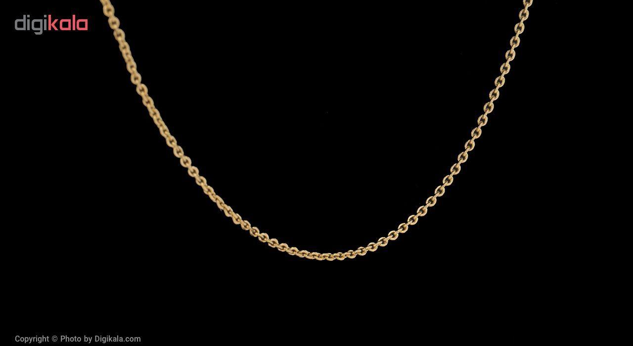 گردنبند طلا 18 عیار مایا ماهک مدل MM0871 -  - 2