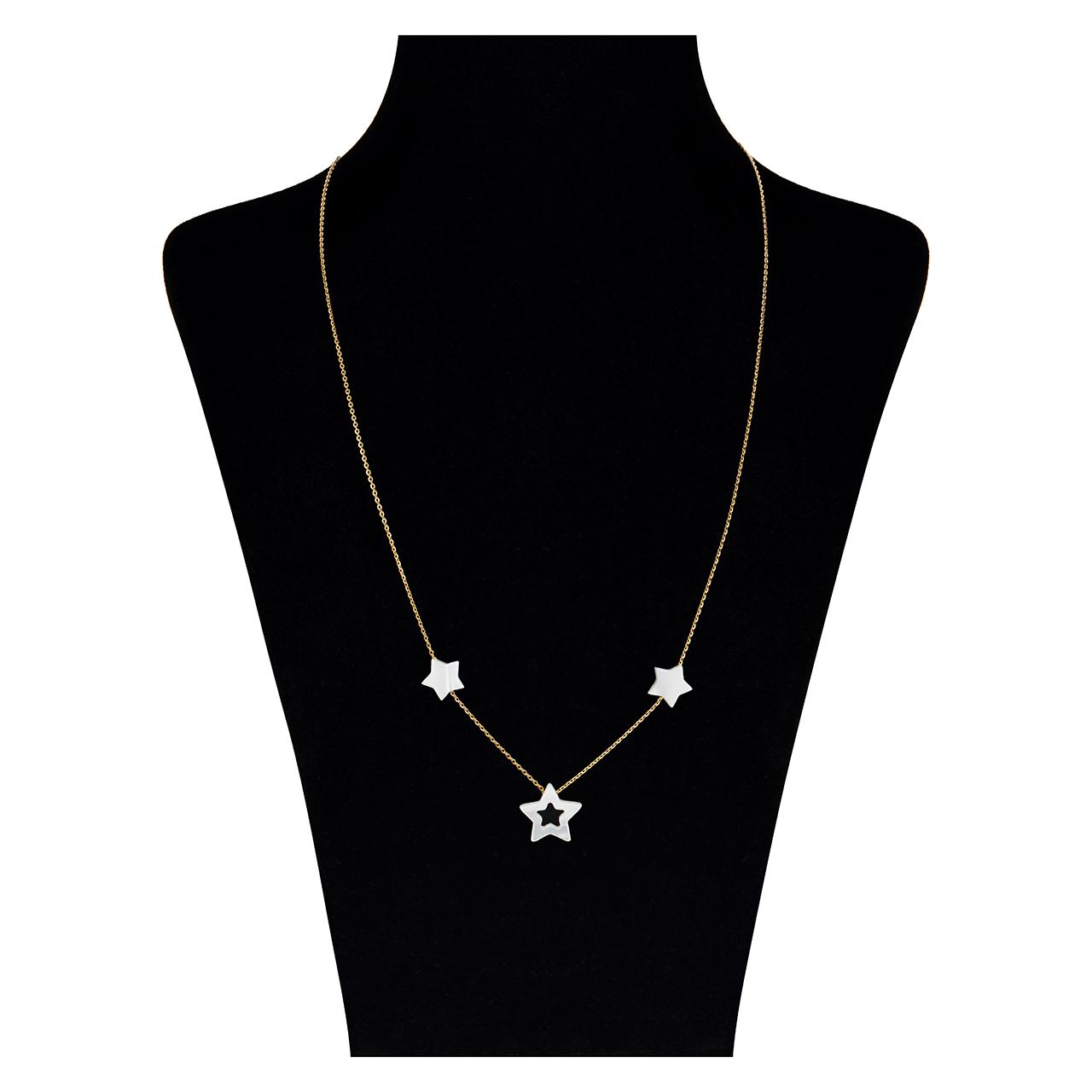 قیمت گردنبند طلا 18 عیار مایا ماهک مدل MM0868