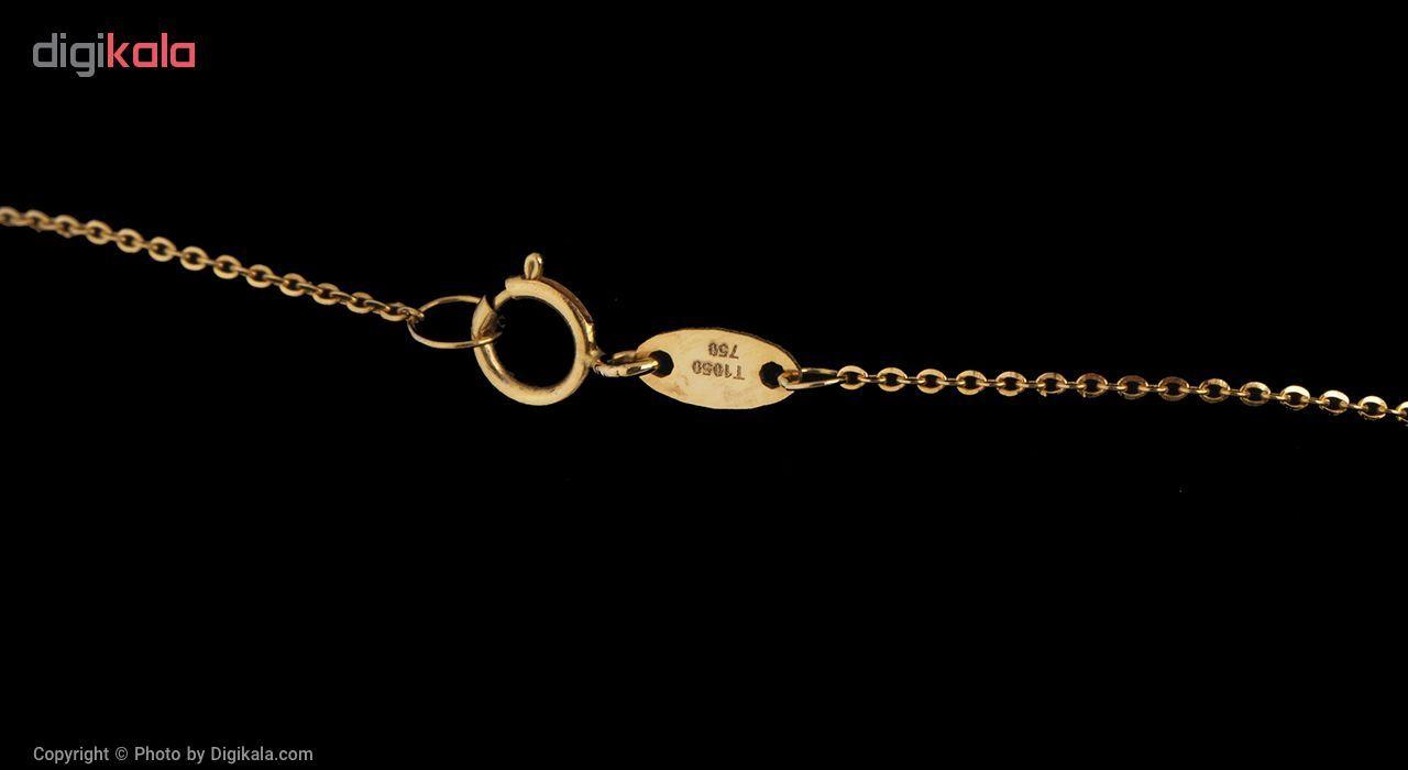 گردنبند طلا 18 عیار مایا ماهک مدل MM0868 -  - 3