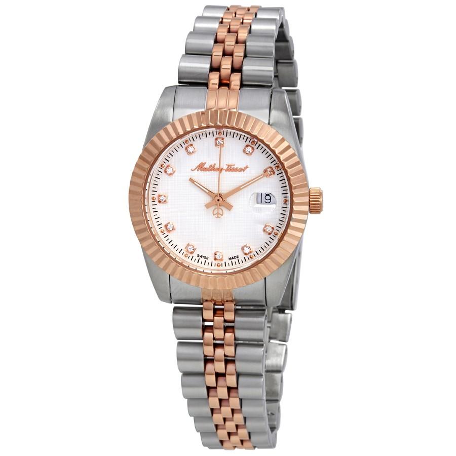 ساعت مچی عقربه ای زنانه متی تیسوت مدل D810RA