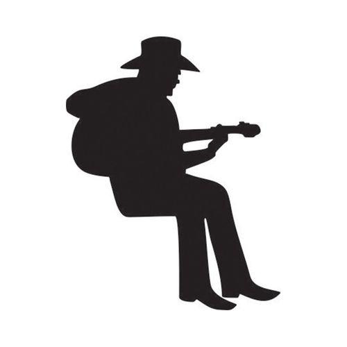 استیکر کلید پریز طرح مرد گیتار زن بسته 2 عددی