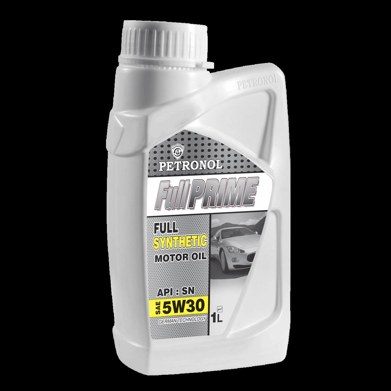 روغن موتور خودرو پترونول مدل  فول پرایم سینتتیک SAE 5W-30 ظرفیت 1 لیتر