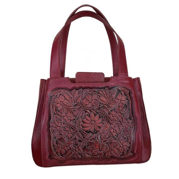 کیف دستی زنانه چرم نگار مدل آیشن کد CN-207082