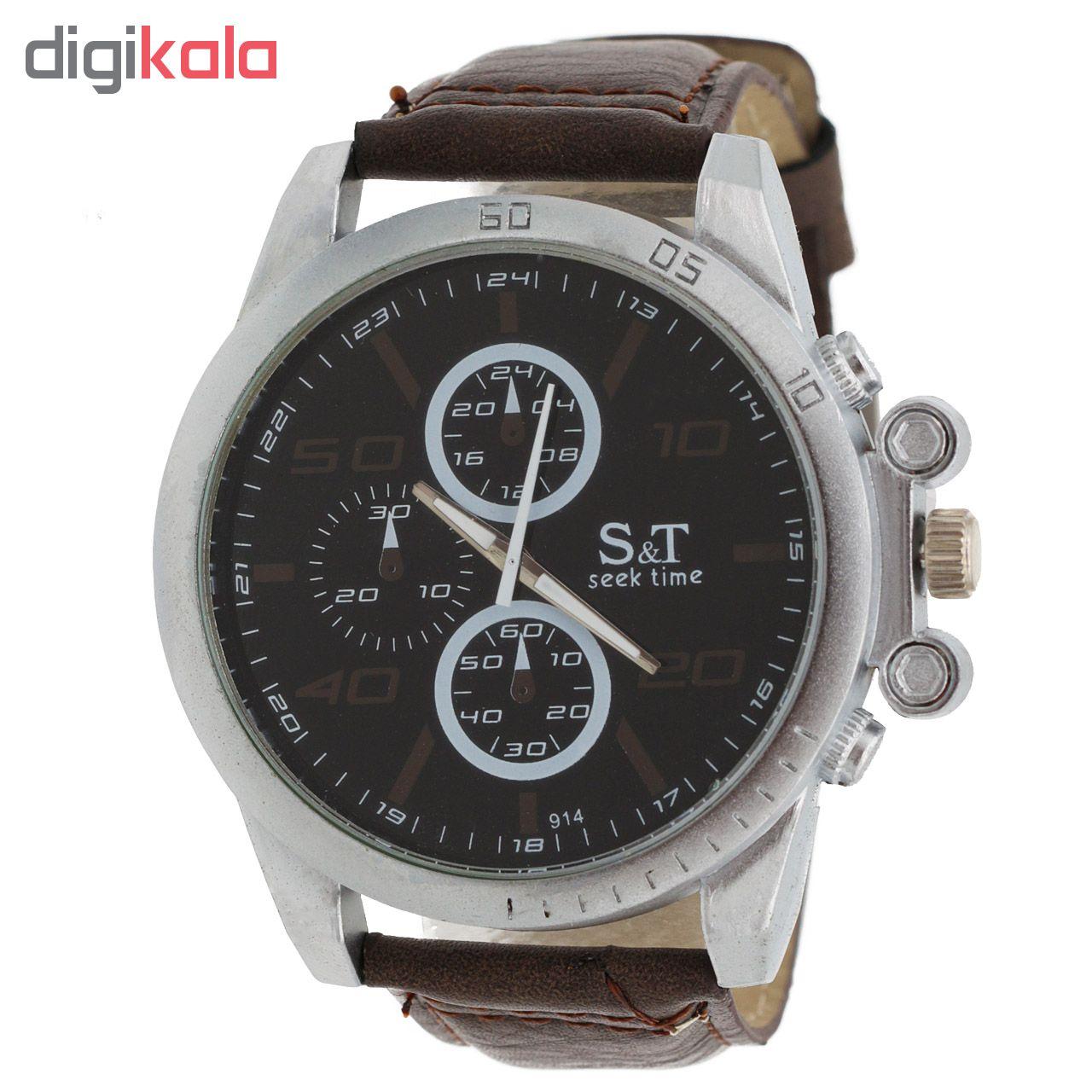 خرید ساعت مچی عقربه ای مردانه اس تی مدل ST1964
