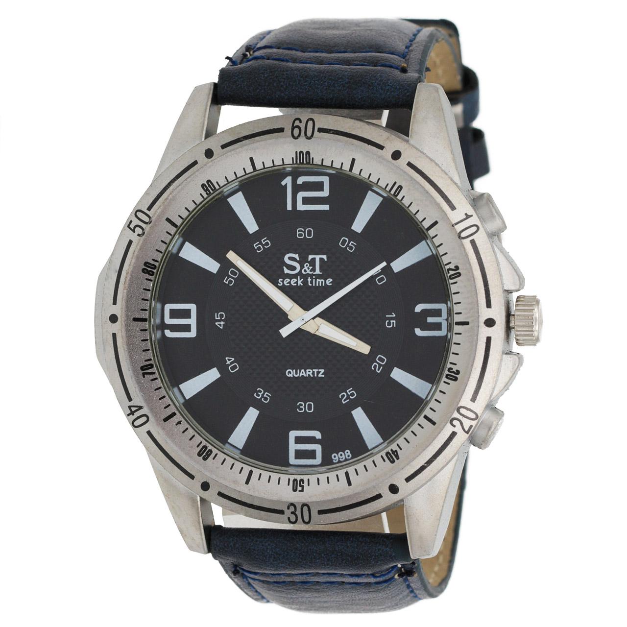 ساعت مچی عقربه ای مردانه اس تی مدل ST1966
