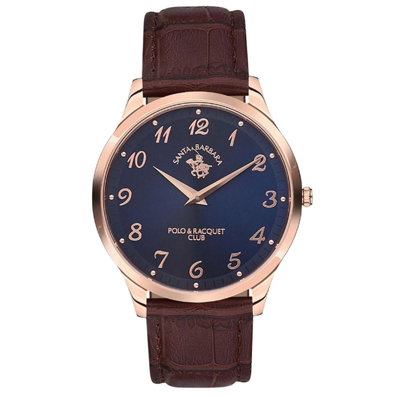 ساعت مچی عقربه ای مردانه سانتا باربارا مدل sb.10.1126.2
