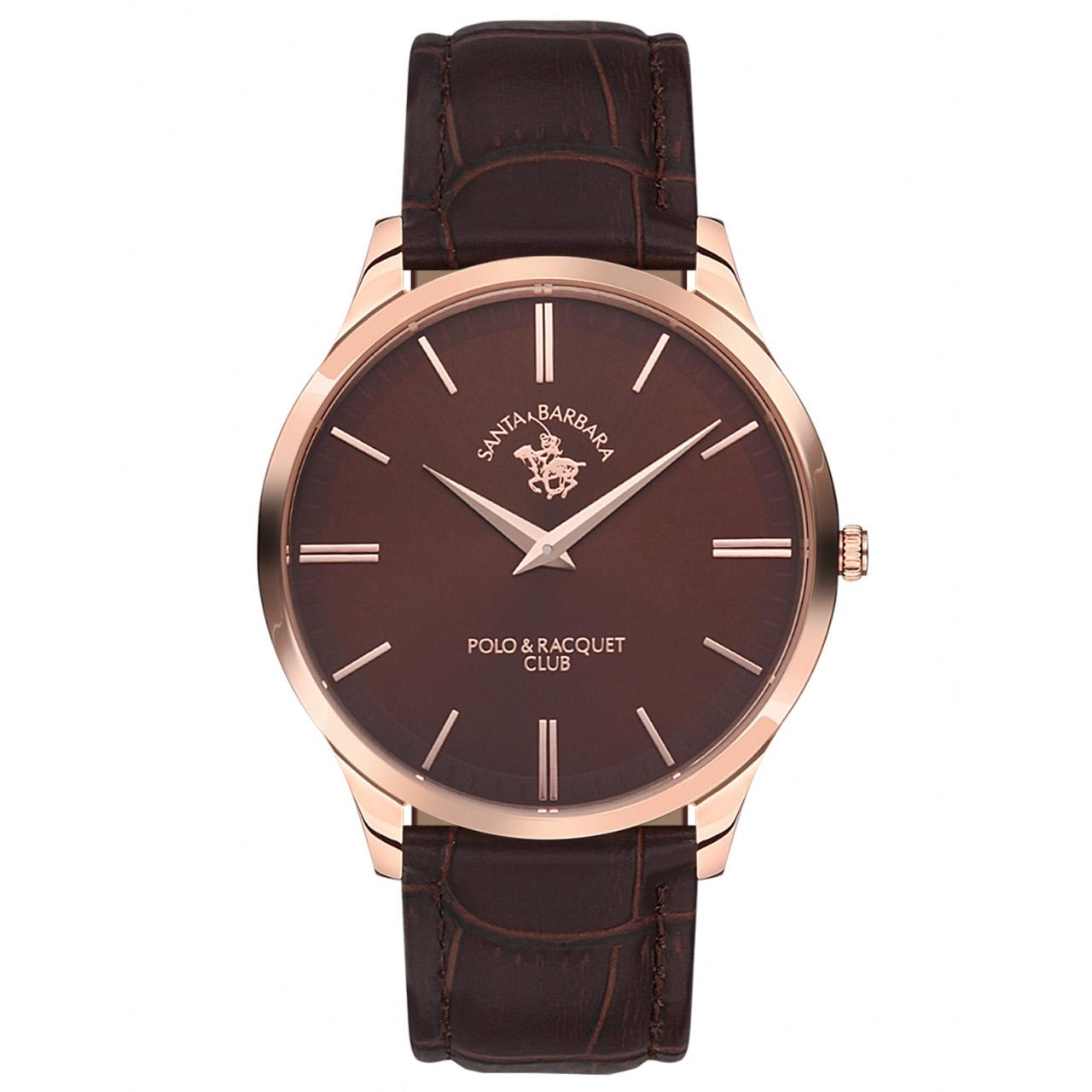 ساعت مچی عقربه ای مردانه سانتا باربارا مدل sb.10.1127.3