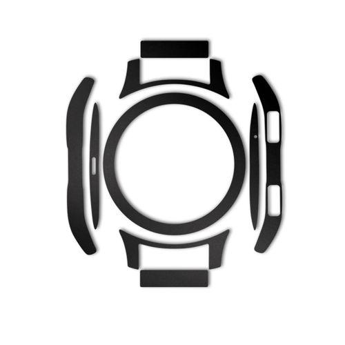 بسته 2 عددی برچسب ماهوت مدل Black-color-shades Special مناسب برای ساعت هوشمند Samsung Galaxy Watch 46mm