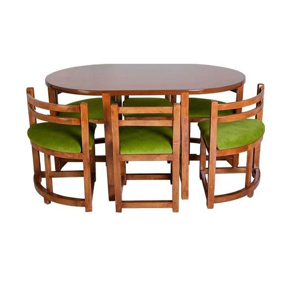 میز و صندلی ناهارخوری 6 نفره مدل Ro-004