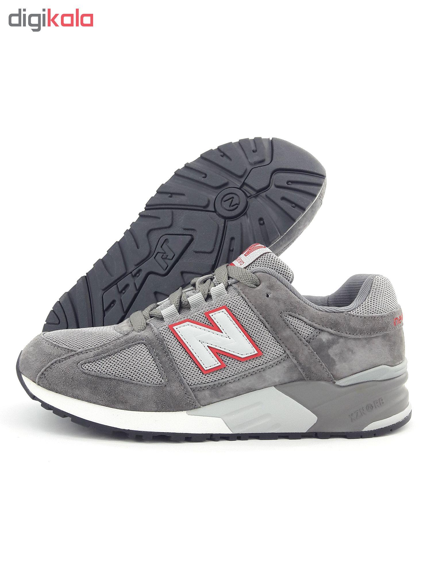 کفش راحتی مردانه نیوبای لنرا مدل 999 al.gry