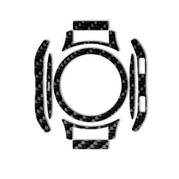 بسته 2 عددی برچسب ماهوت مدل Shine Carbon-fiber مناسب برای ساعت هوشمند Samsung Galaxy Watch 46mm