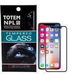 محافظ صفحه نمایش تمام چسب شیشه ای  مدل 5D  مناسب برای گوشی اپل آیفون X thumb