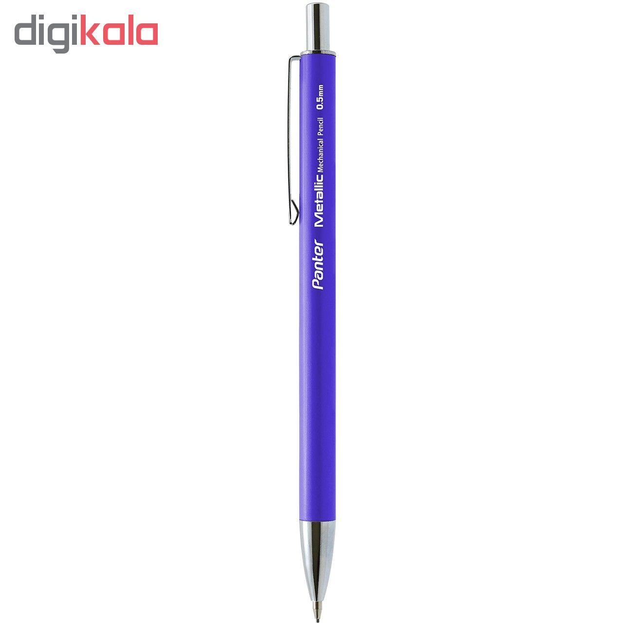 مداد نوکی پنتر مدل متالیک قطر نوشتاری  0.5 میلی متر main 1 1