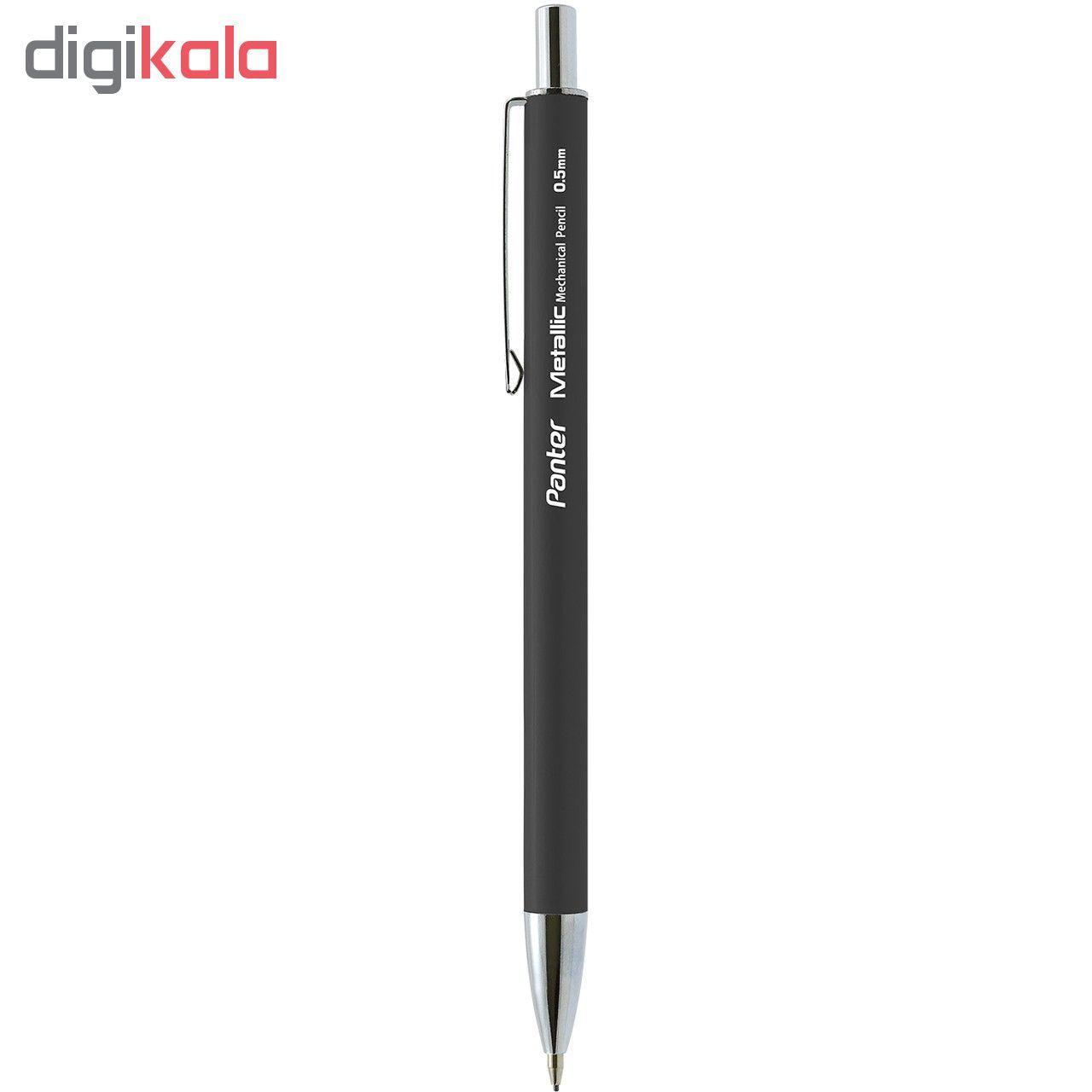 مداد نوکی پنتر مدل متالیک قطر نوشتاری  0.5 میلی متر main 1 2
