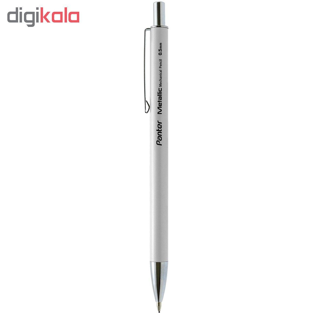 مداد نوکی پنتر مدل متالیک قطر نوشتاری  0.5 میلی متر main 1 3