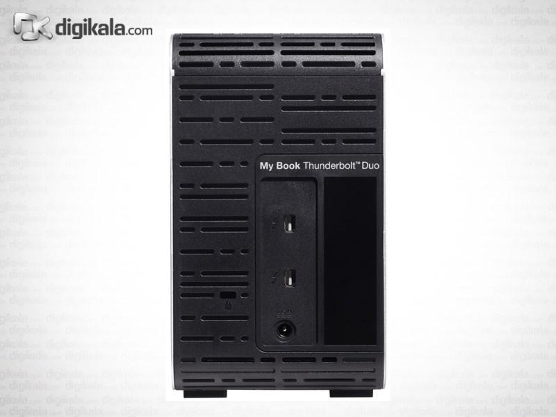 ذخیره ساز تحت شبکه وسترن دیجیتال مدل مای بوک تاندربولت دو ظرفیت 4 ترابایت