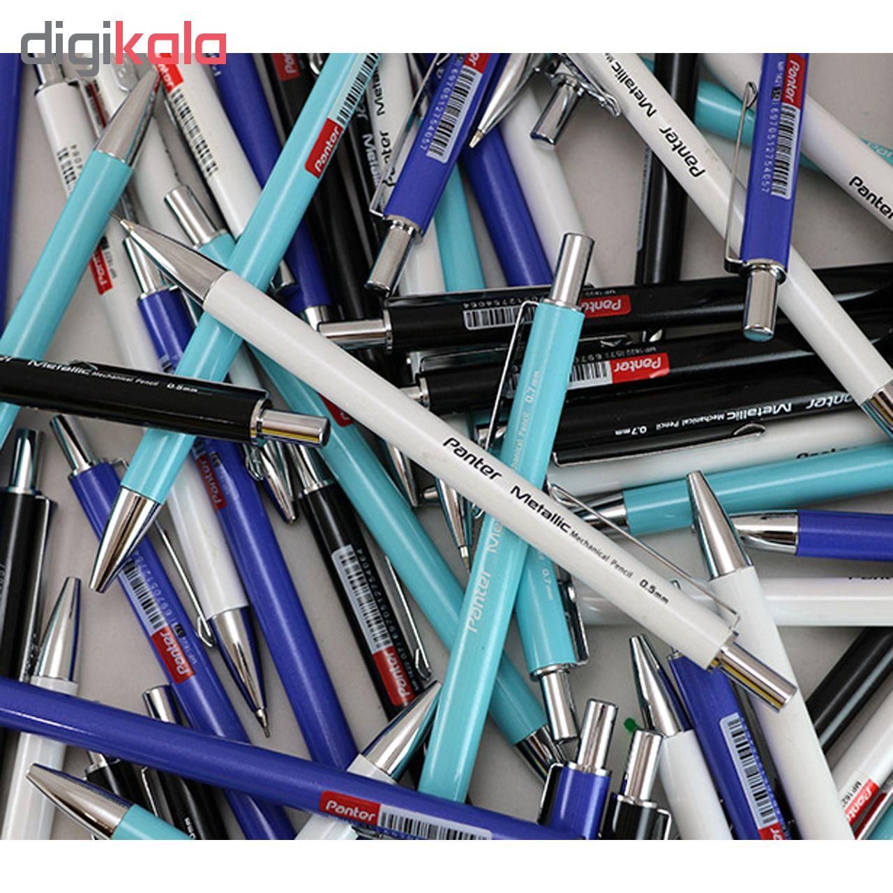 مداد نوکی پنتر مدل متالیک قطر نوشتاری  0.5 میلی متر main 1 6