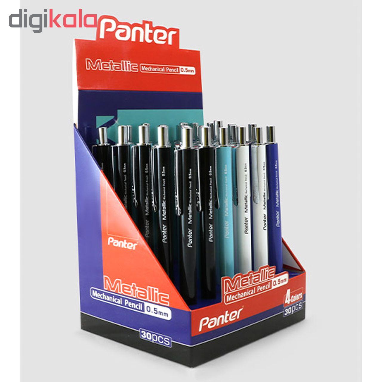 مداد نوکی پنتر مدل متالیک قطر نوشتاری  0.5 میلی متر main 1 7