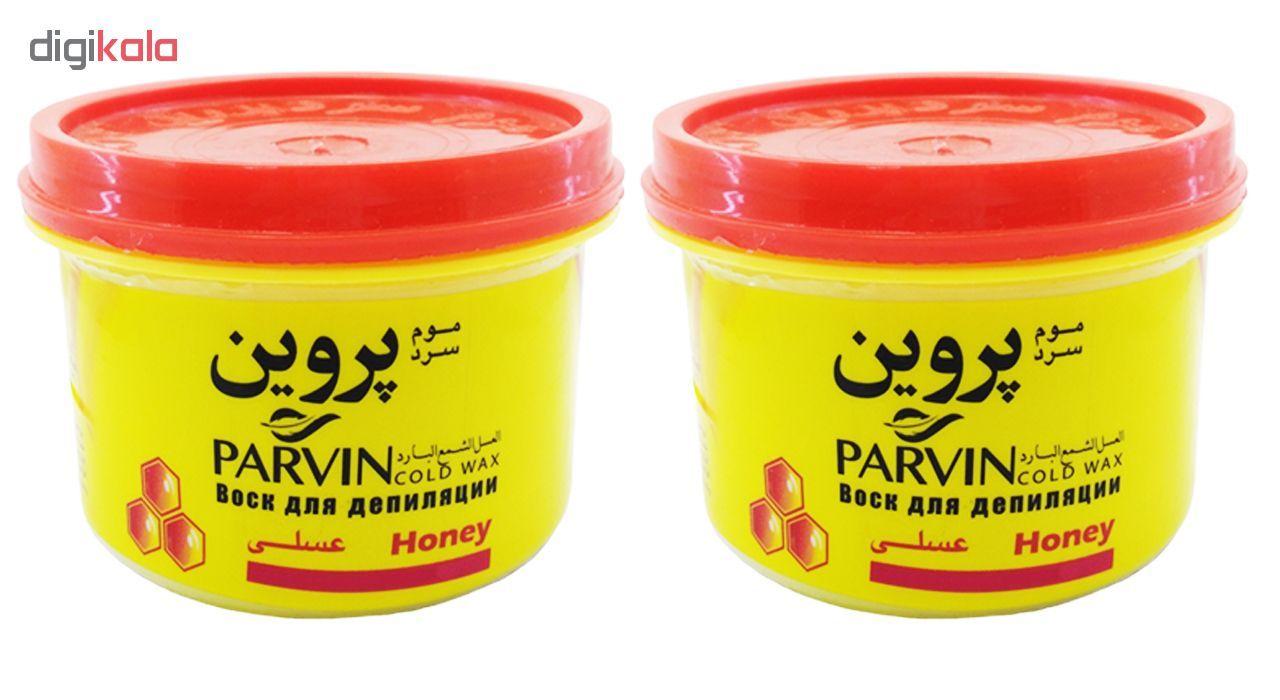 موم سرد پروین مدل Honey حجم 750 گرم بسته 2 عددی main 1 1