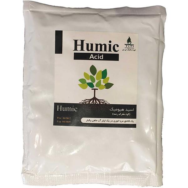 کود جامد مدل هیومیک اسید تی تی بسته 200 گرمی