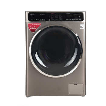 ماشین لباسشویی ال جی مدل WM-1052SS-GSC ظرفیت 10.5 کیلوگرم   LG WM-1052SS-GSC Washing Machine 10.5Kg