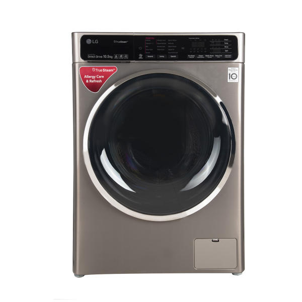 ماشین لباسشویی ال جی مدل WM-1052SS-GSC ظرفیت 10.5 کیلوگرم