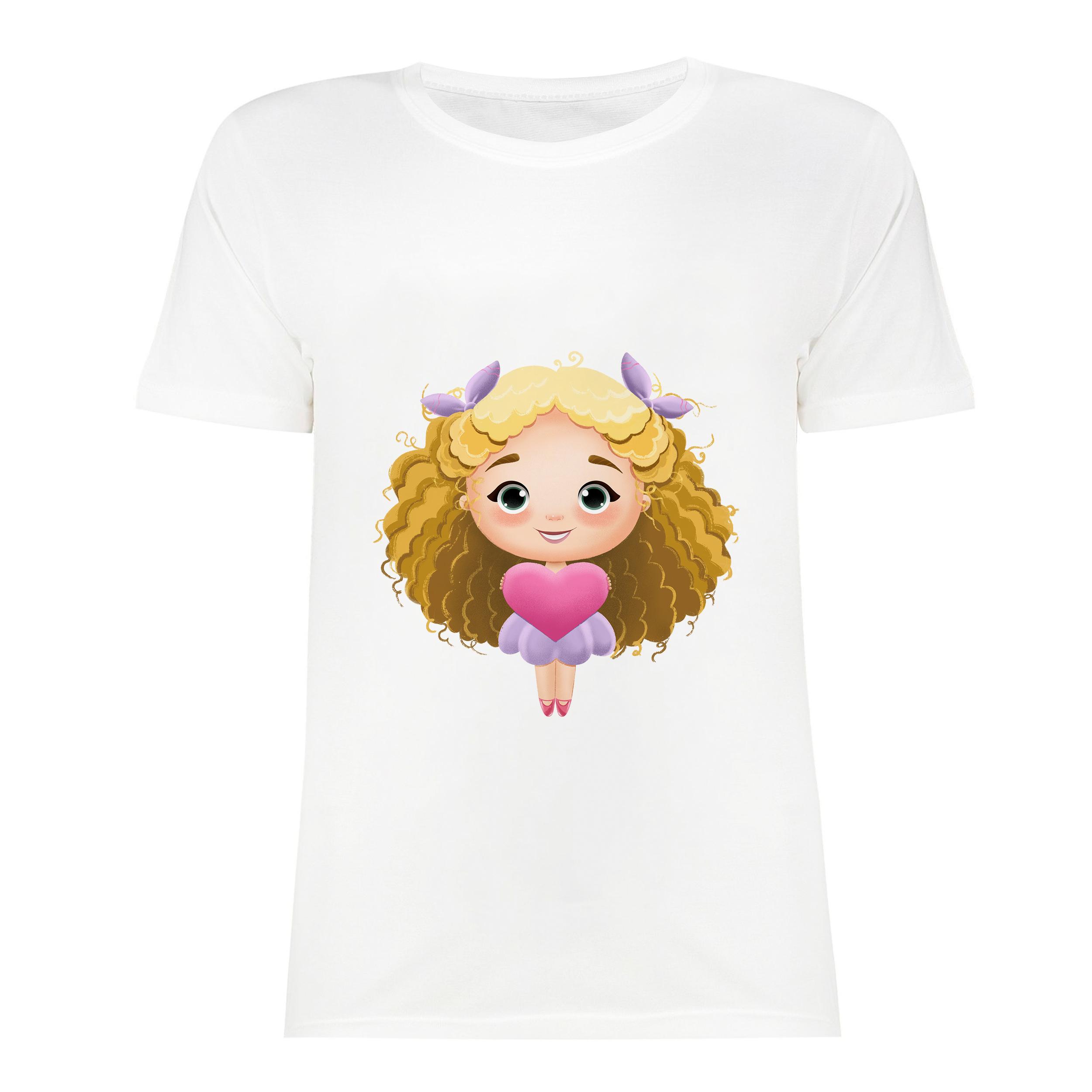 تی شرت آستین کوتاه زنانه مدل SK991106-001