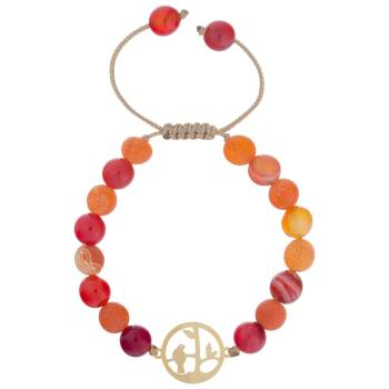 دستبند طلا 18 عیار ماهک مدل MB0630 - مایا ماهک