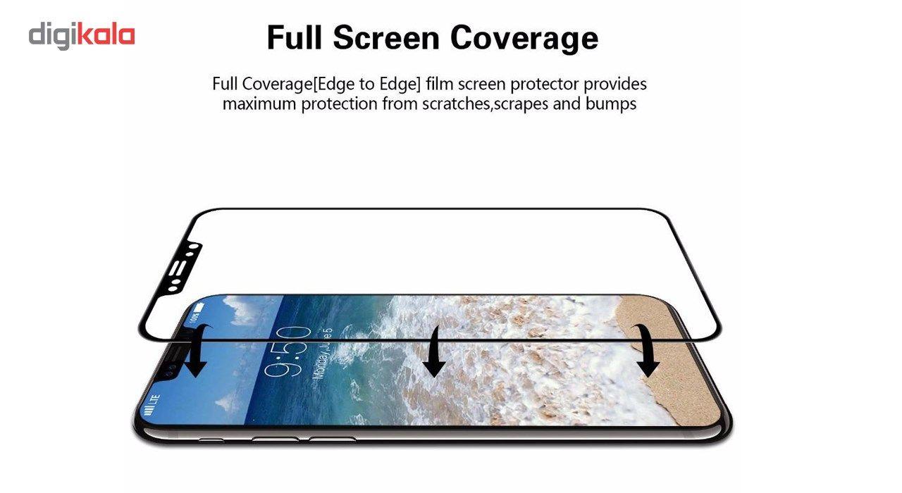 محافظ صفحه نمایش تمام چسب شیشه ای  مدل 5D  مناسب برای گوشی اپل آیفون X main 1 8