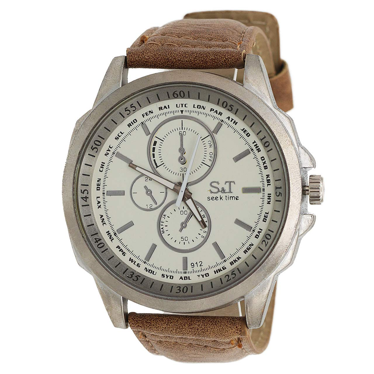 ساعت مچی عقربه ای مردانه اس تی مدل ST1965 52