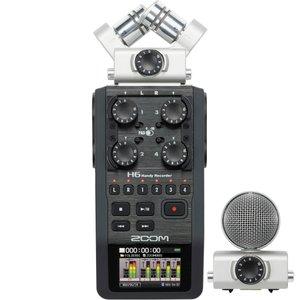 ضبط کننده صدا زوم مدل H6