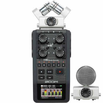 ضبط کننده صدا زوم مدل H6 |