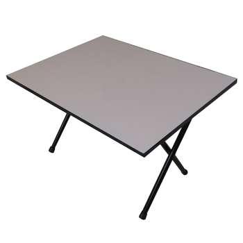 میز تحریر تاشو مدل میلاد 70 وایت برد همراه با ماژیک و تخته پاکن