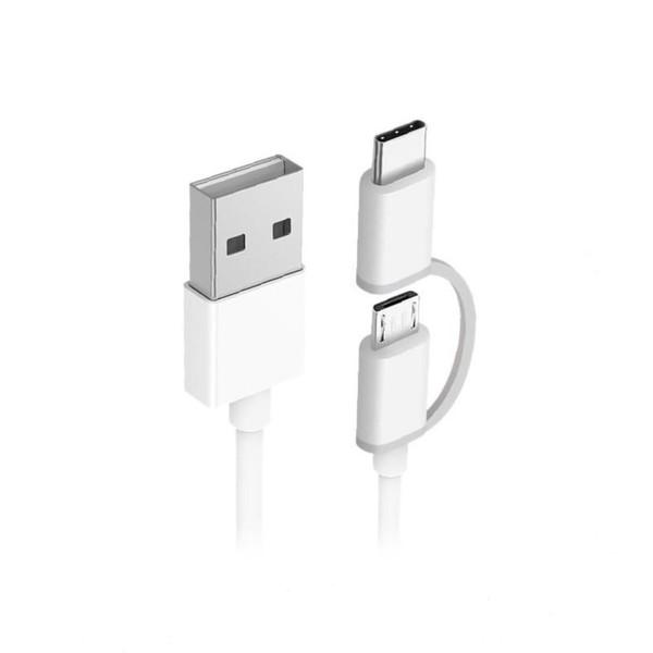 کابل تبدیل USB به USB-C/Micro USB زد ام آی مدل طول 1 متر
